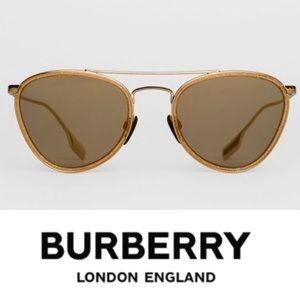 Burberry glitter detail sunglasses.